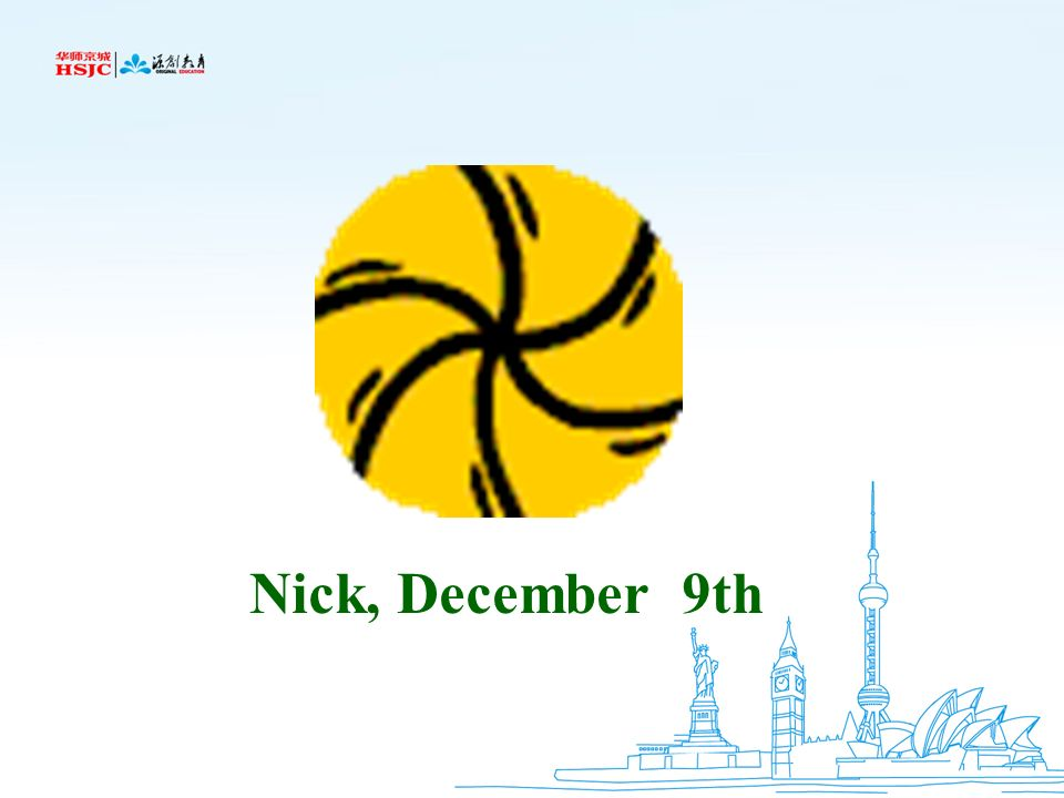 Nick, December 9th