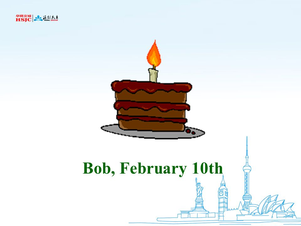 Bob, February 10th