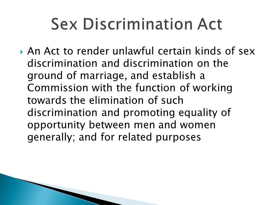 purpose of the sex discrimination act jpg 1500x1000