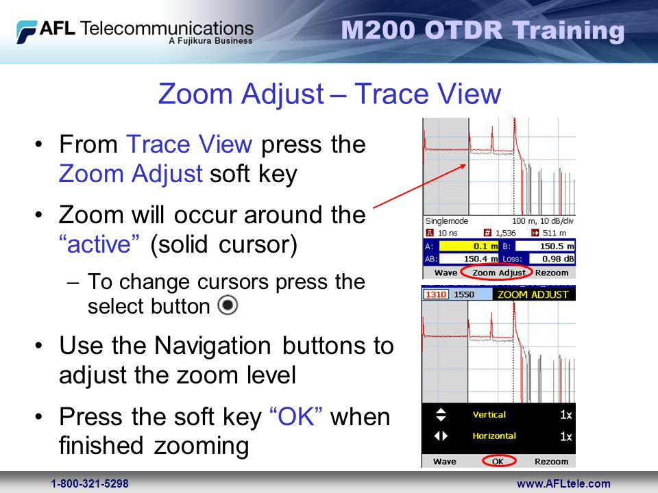 Zoom Adjust – Trace View