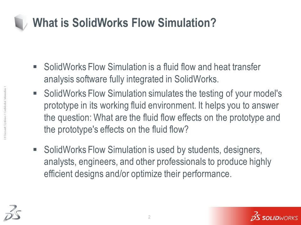 What is SolidWorks Flow Simulation