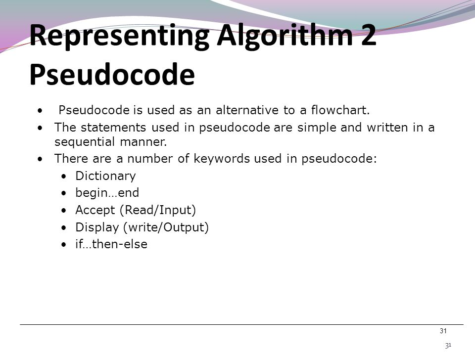 Representing Algorithm 2 Pseudocode