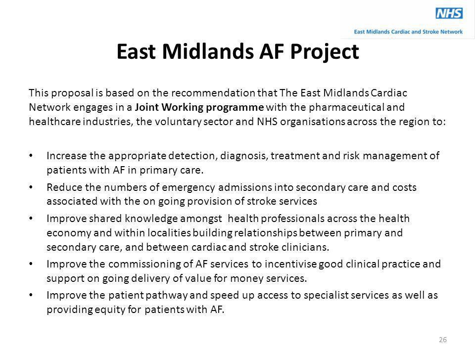 East Midlands AF Project