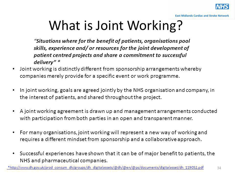 What is Joint Working