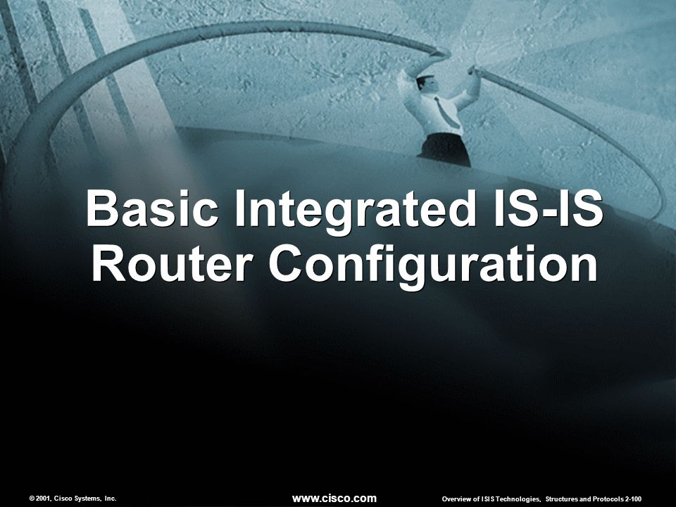 Basic Integrated IS-IS Router Configuration