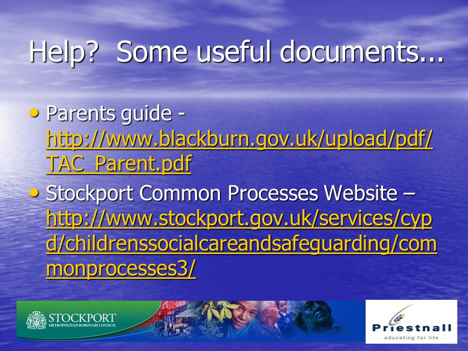 Help Some useful documents...