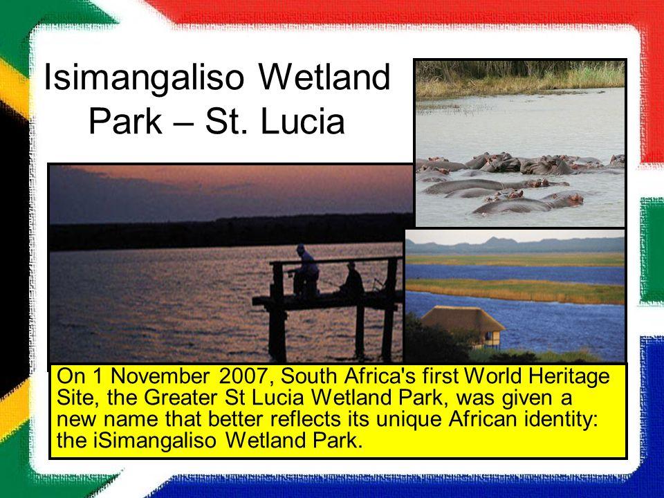 Isimangaliso Wetland Park – St. Lucia