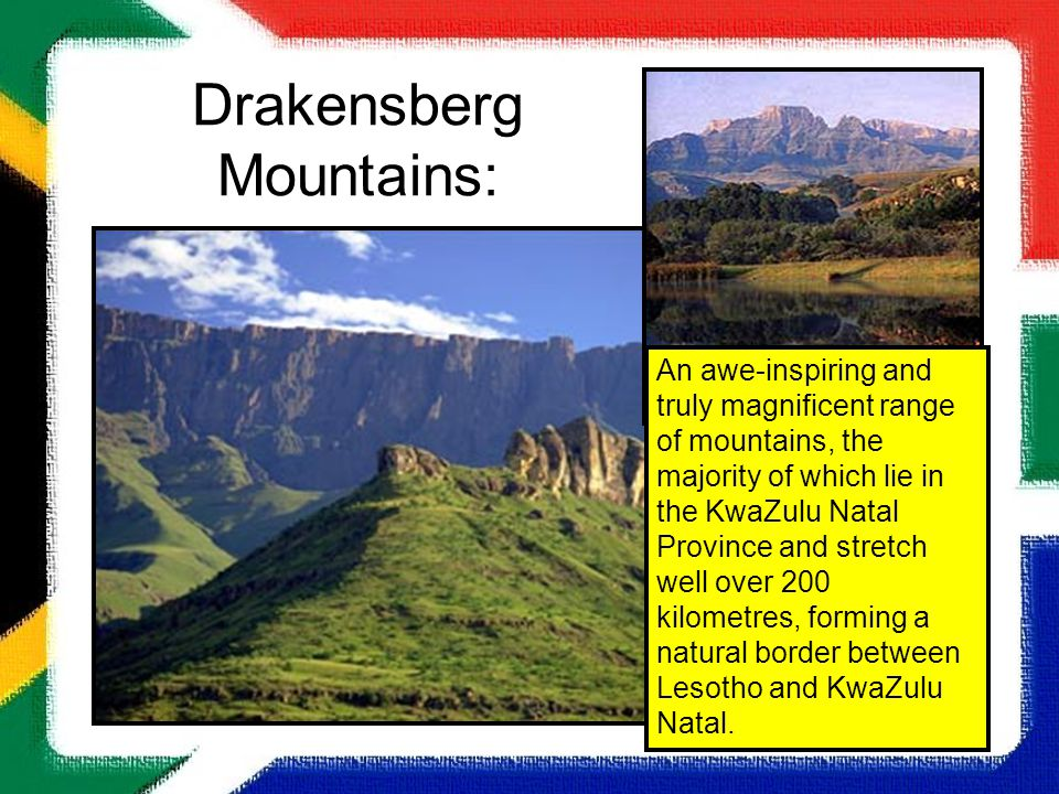 Drakensberg Mountains: