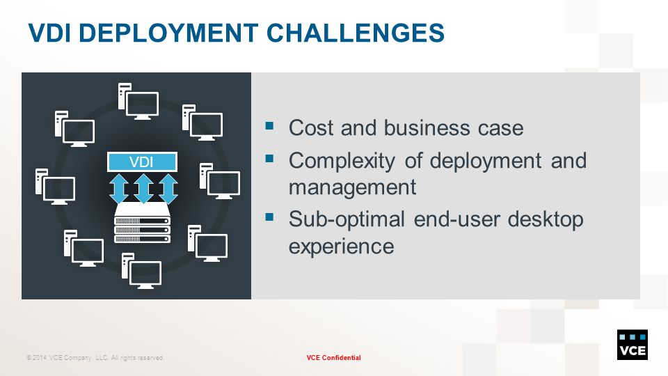 VDI deployment Challenges