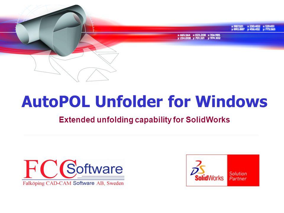 AutoPOL Unfolder for Windows