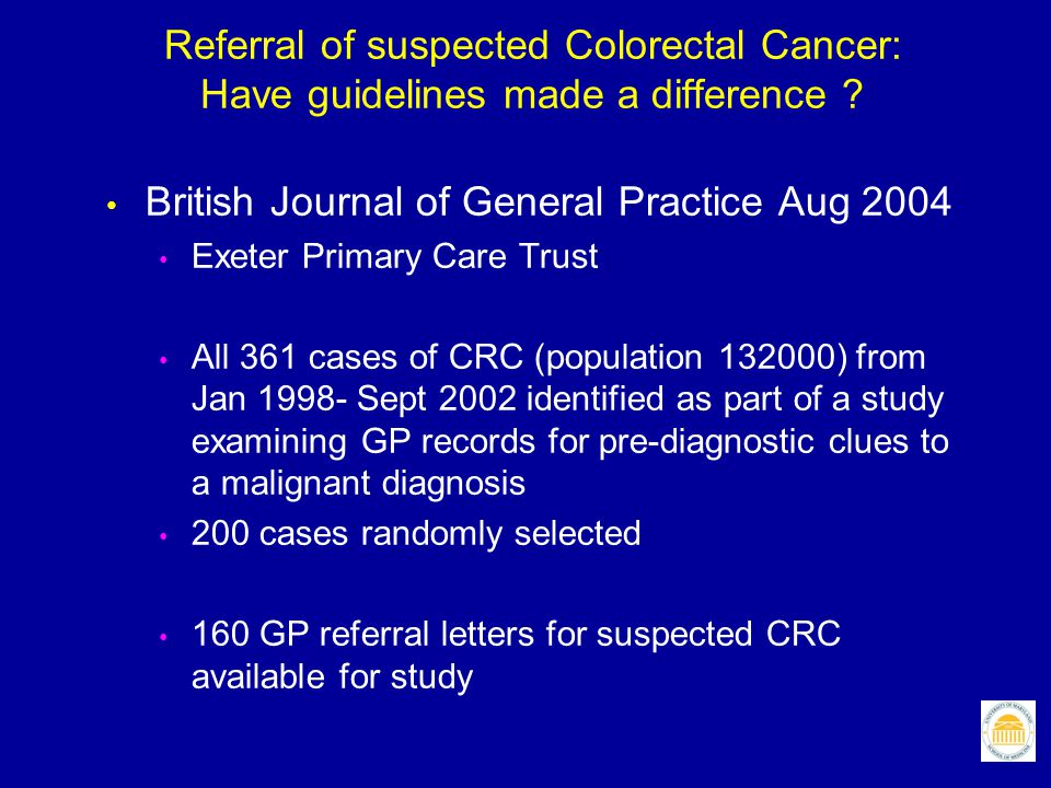 British Journal of General Practice Aug 2004