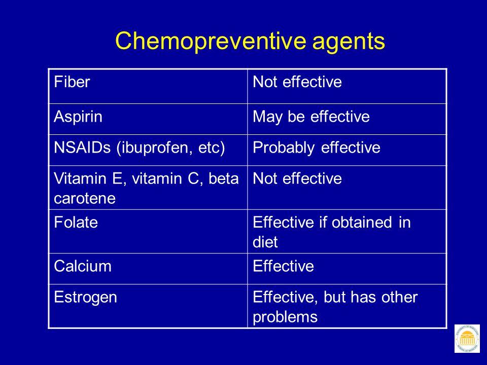 Chemopreventive agents