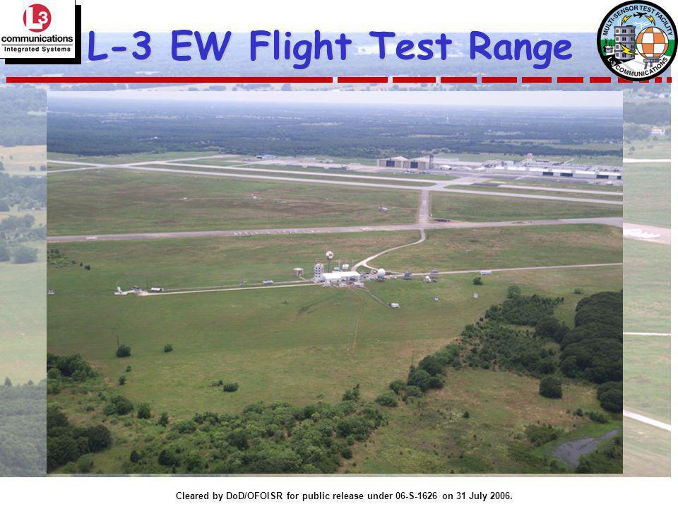 L-3 EW Flight Test Range