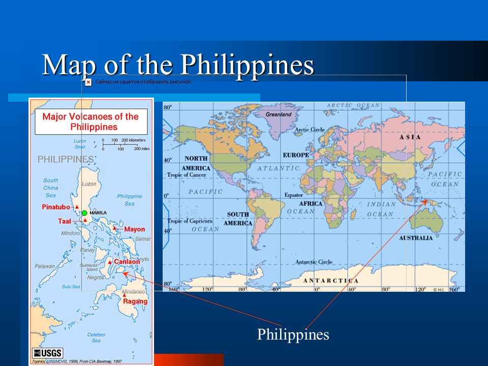 Map of the Philippines Philippines