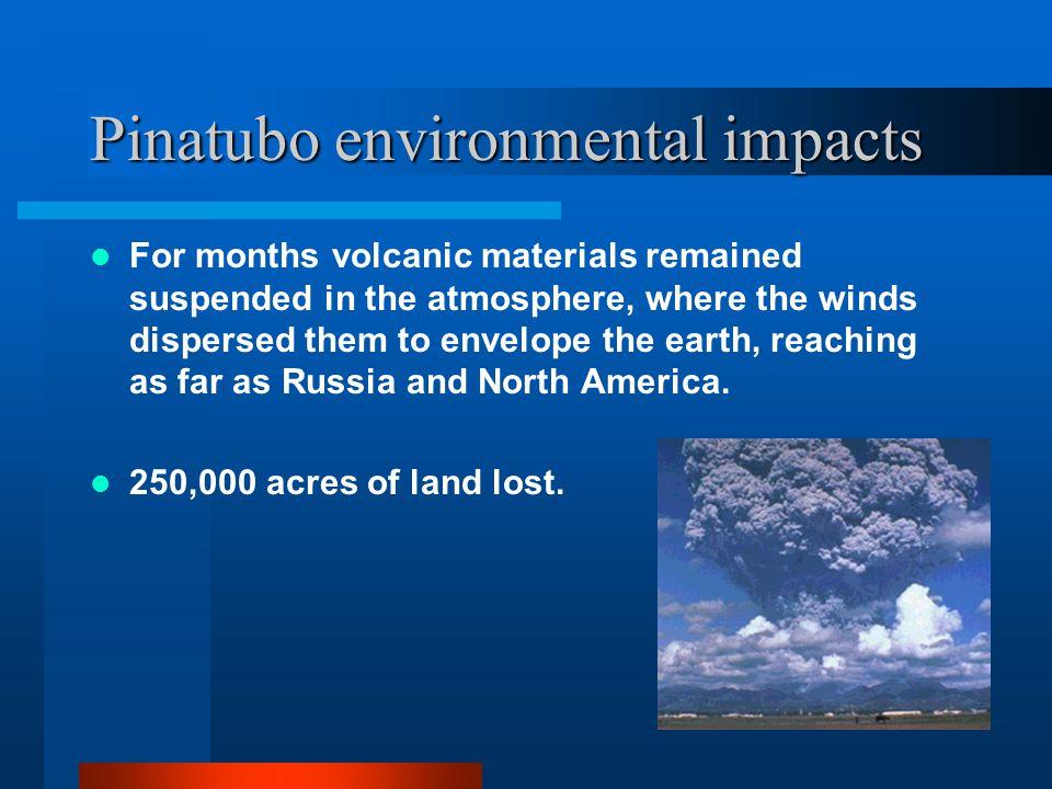 Pinatubo environmental impacts