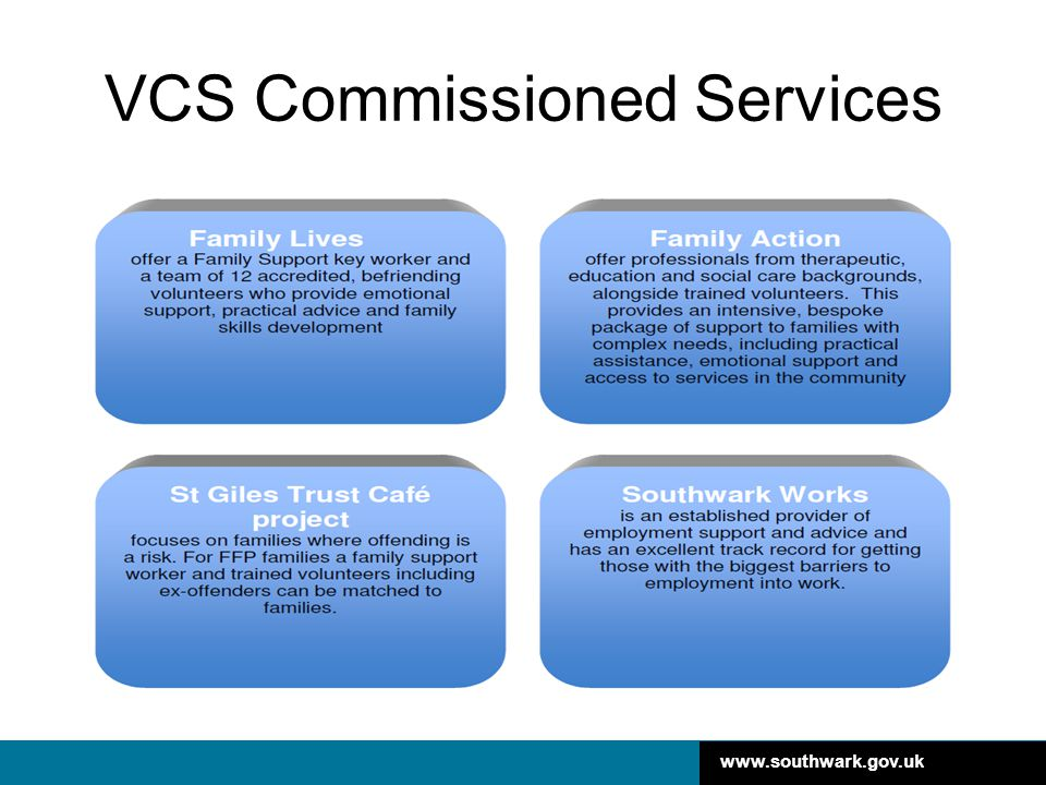 VCS Commissioned Services
