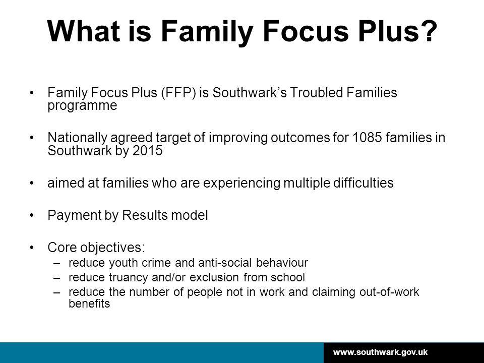 What is Family Focus Plus