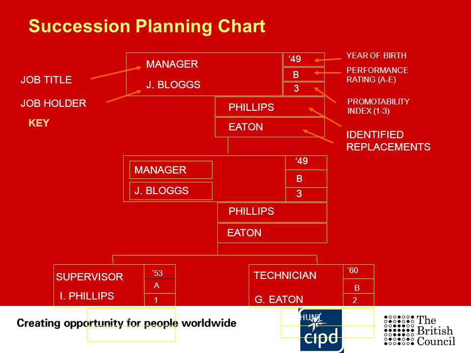 Succession Planning Chart