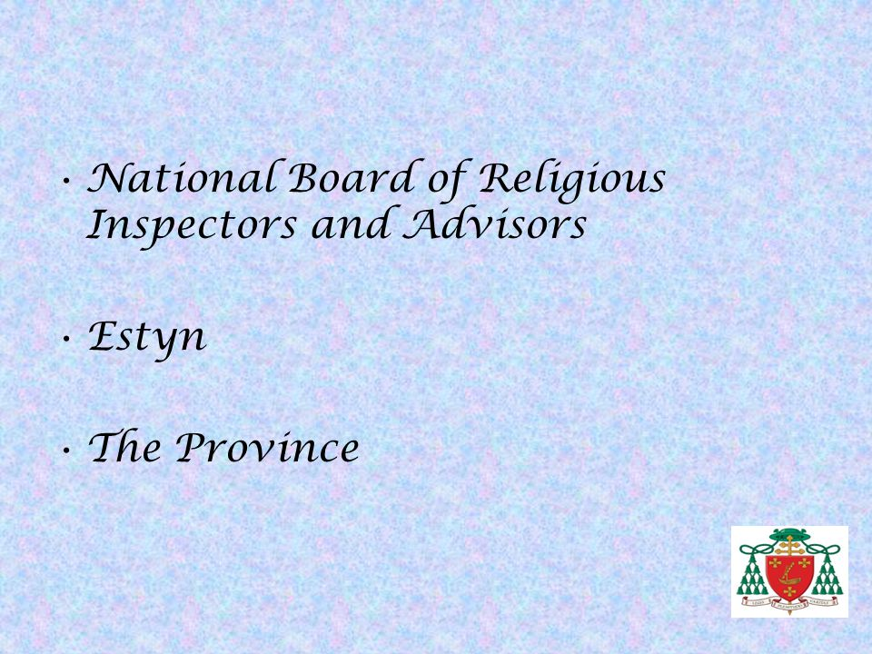 National Board of Religious Inspectors and Advisors