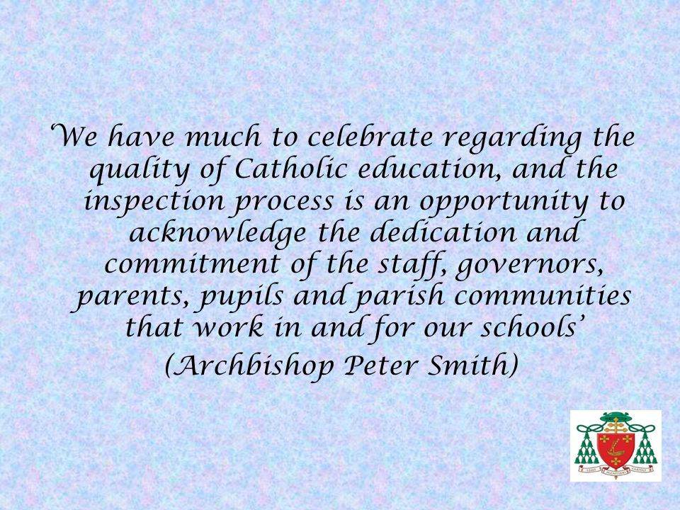 (Archbishop Peter Smith)