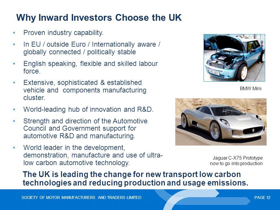Why Inward Investors Choose the UK