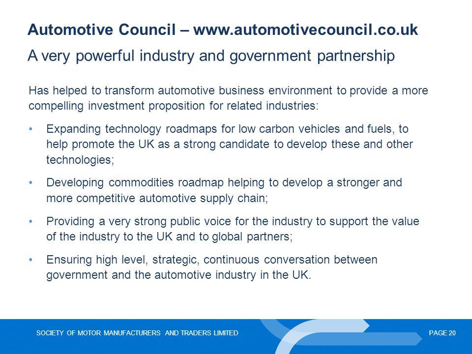 Automotive Council – www.automotivecouncil.co.uk