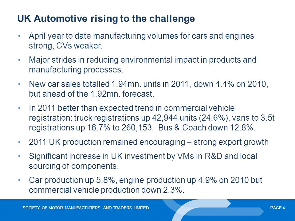 UK Automotive rising to the challenge