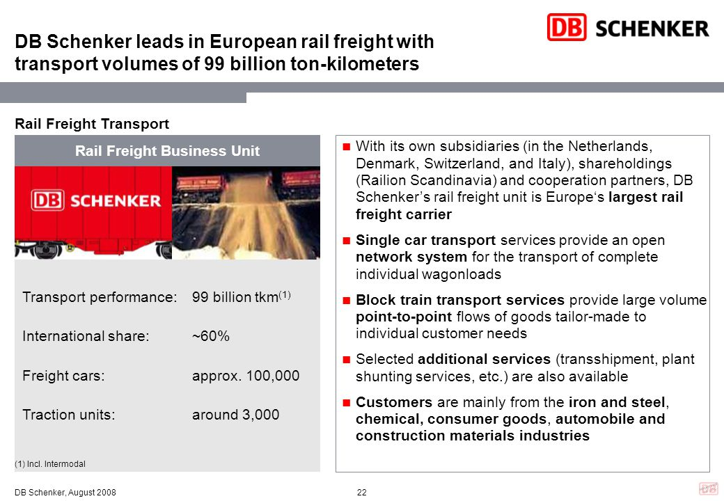Rail Freight Business Unit