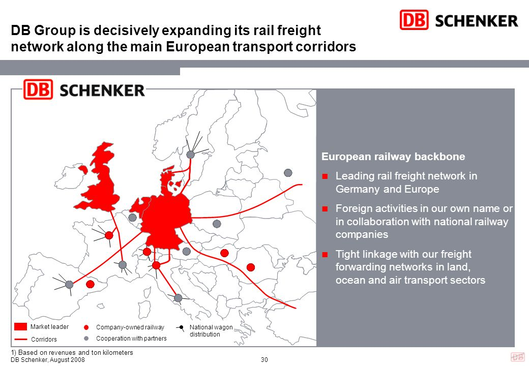 DB Group is decisively expanding its rail freight network along the main European transport corridors