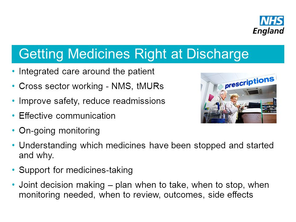 Getting Medicines Right at Discharge