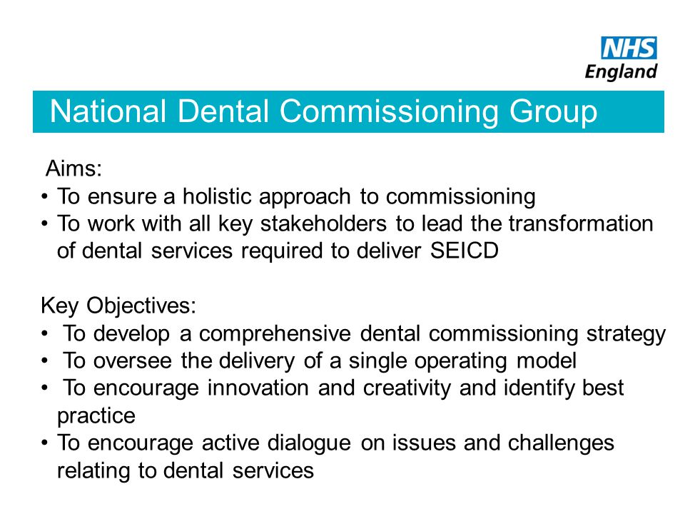 National Dental Commissioning Group