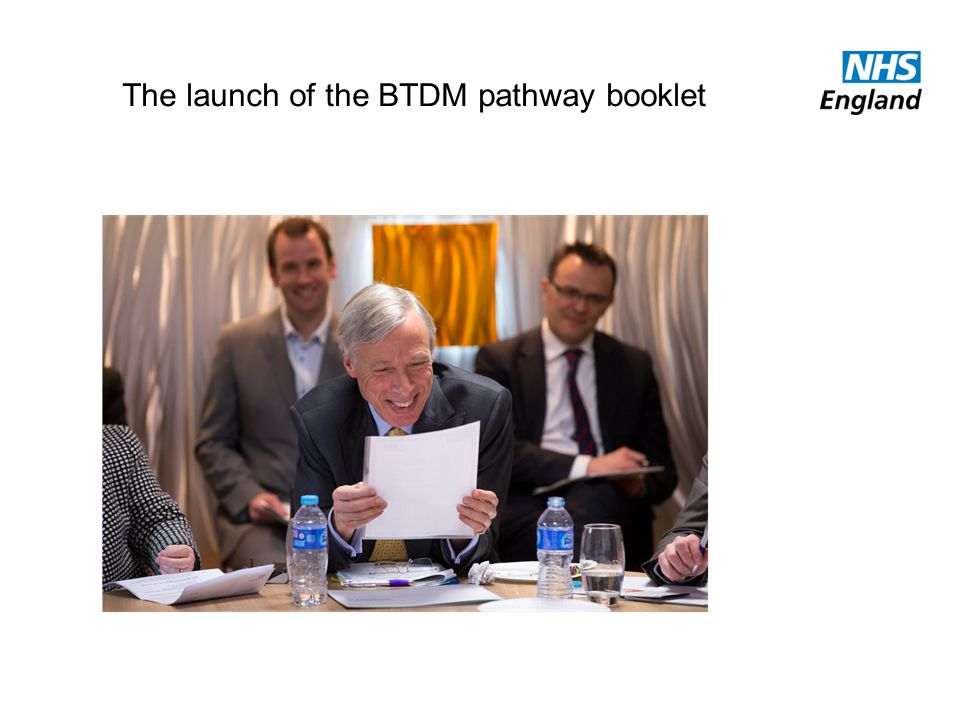 The launch of the BTDM pathway booklet