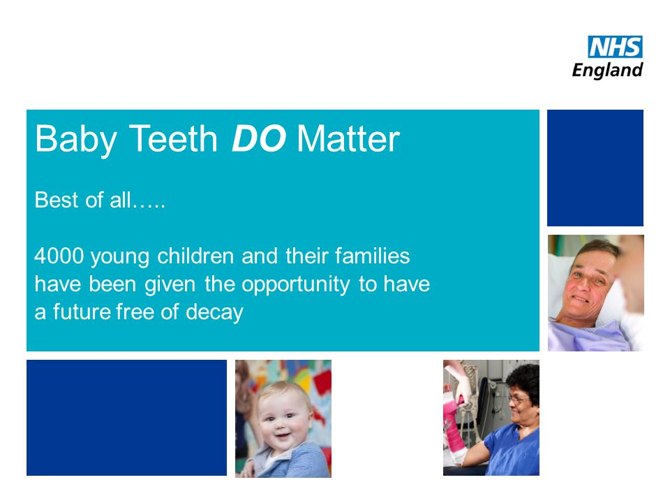 Baby Teeth DO Matter Best of all…..