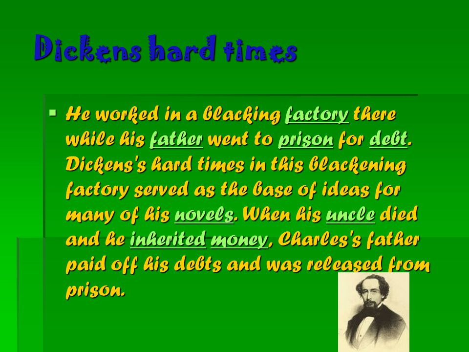 Dickens hard times