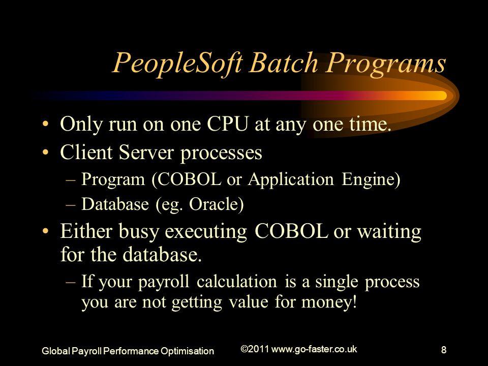 PeopleSoft Batch Programs