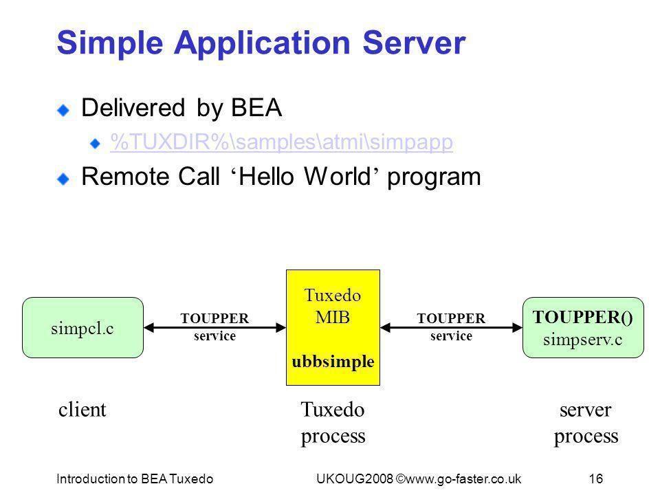 Simple Application Server