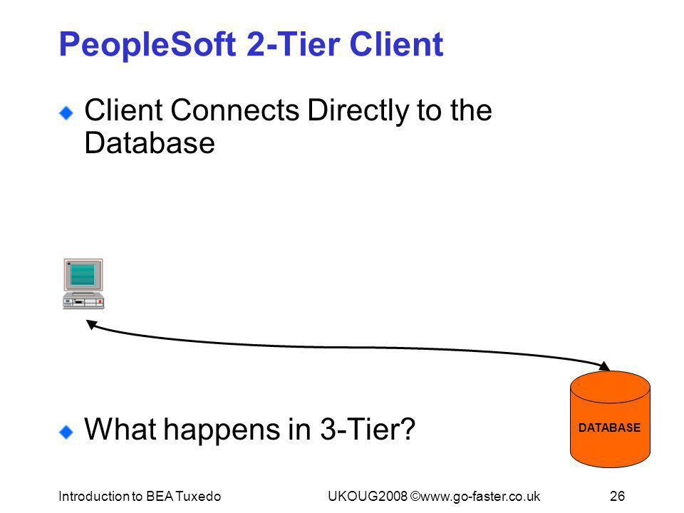 PeopleSoft 2-Tier Client