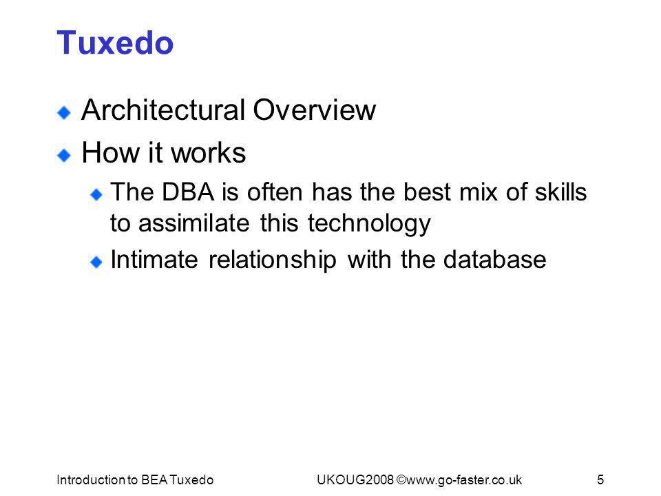Introduction to BEA Tuxedo