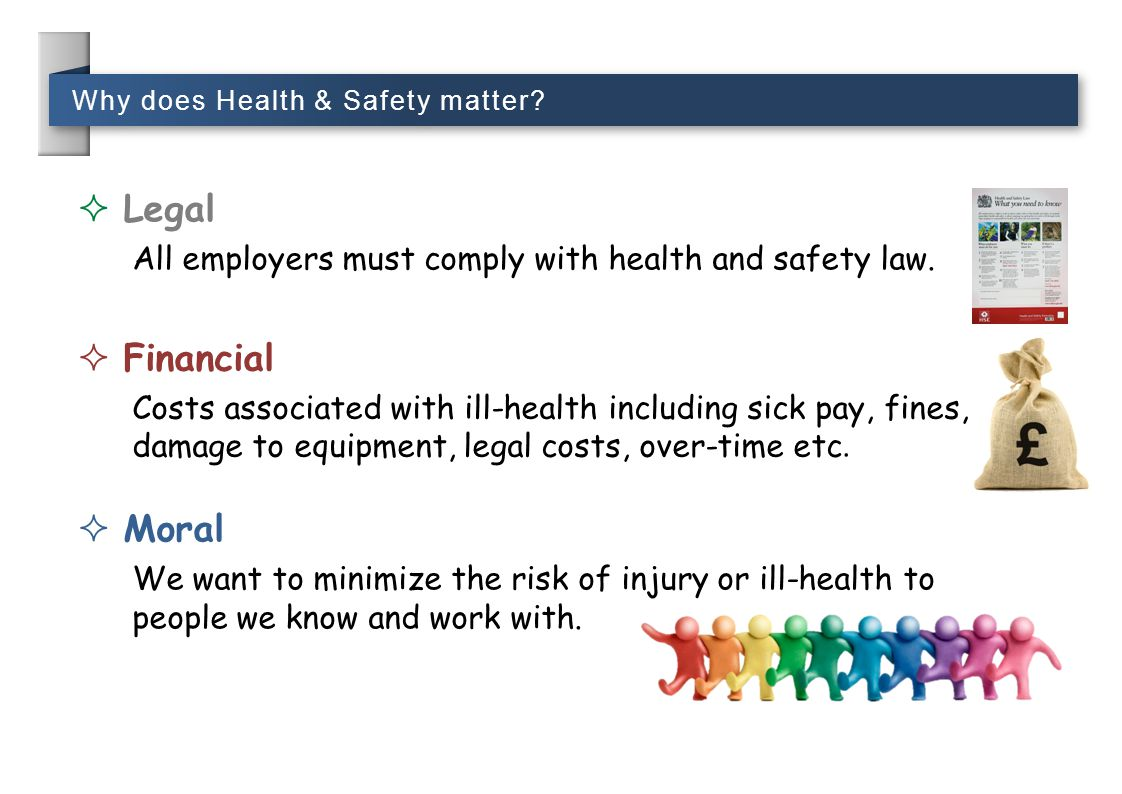 Why does Health & Safety matter