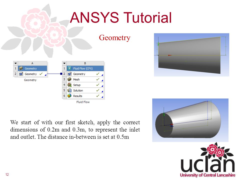 ANSYS Tutorial Geometry