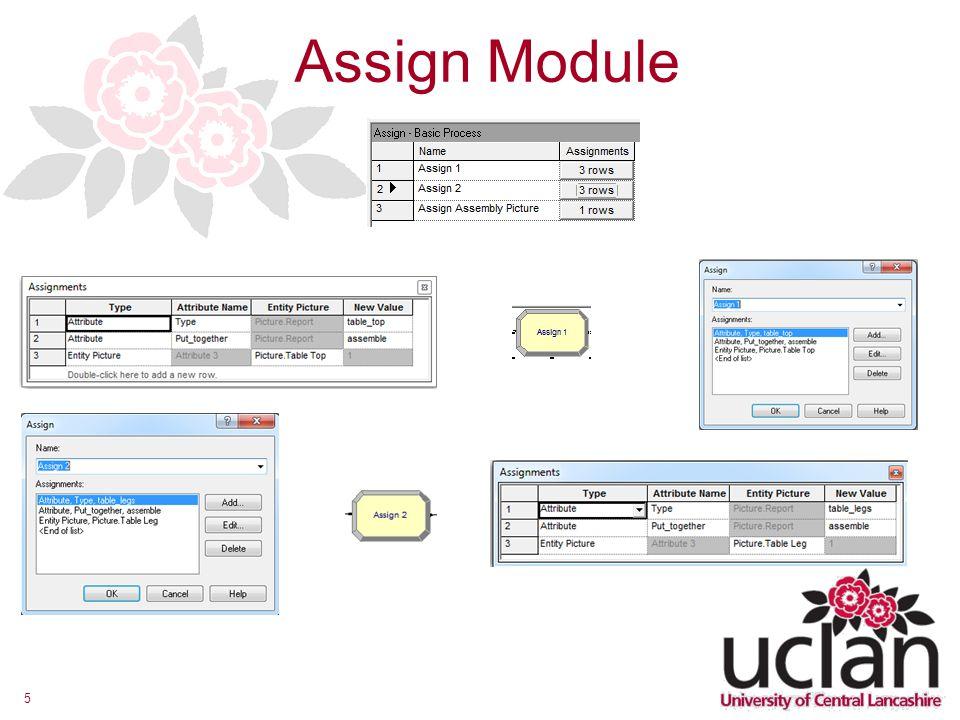 Assign Module
