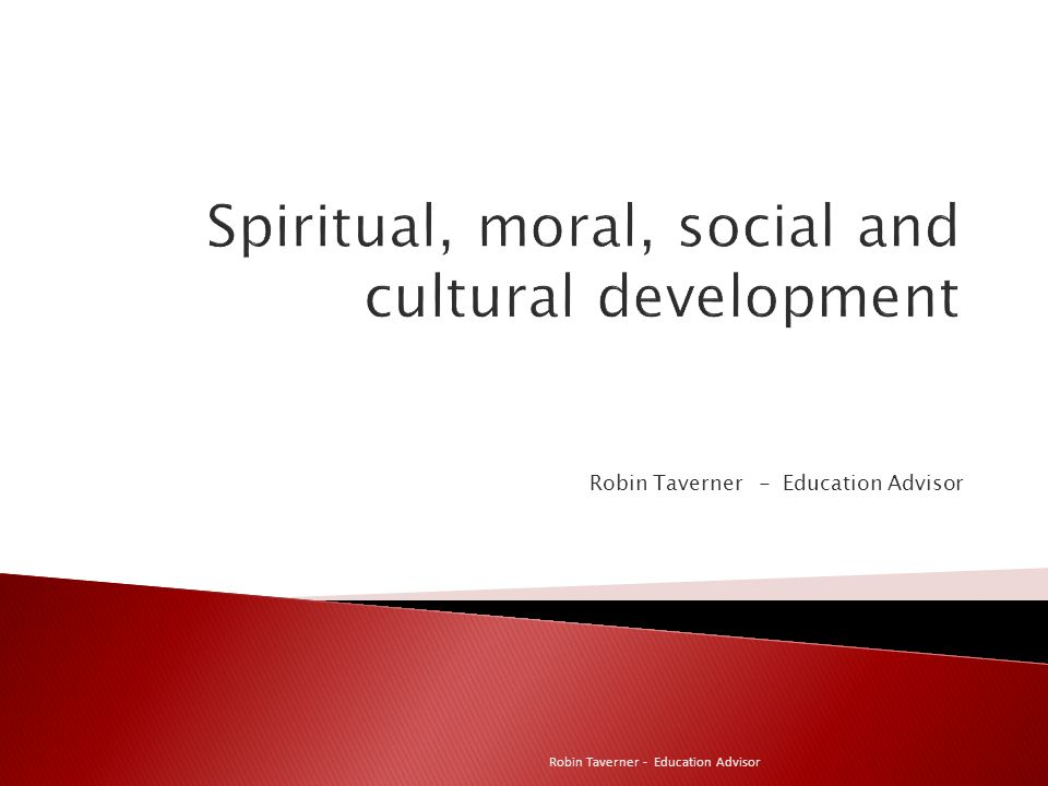 Spiritual, moral, social and cultural development