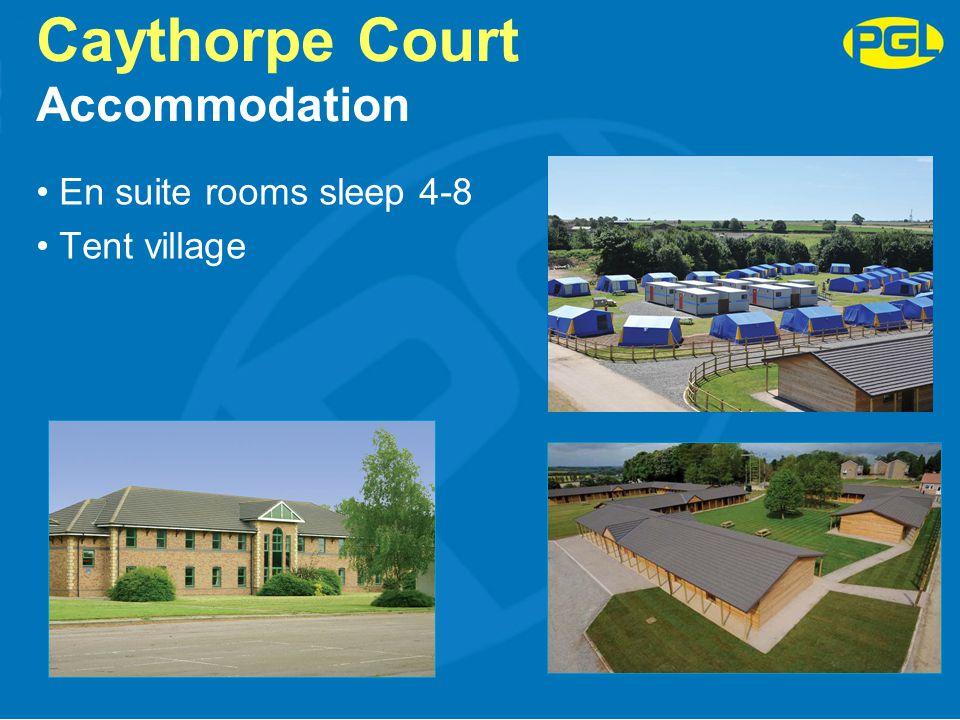Caythorpe Court Accommodation
