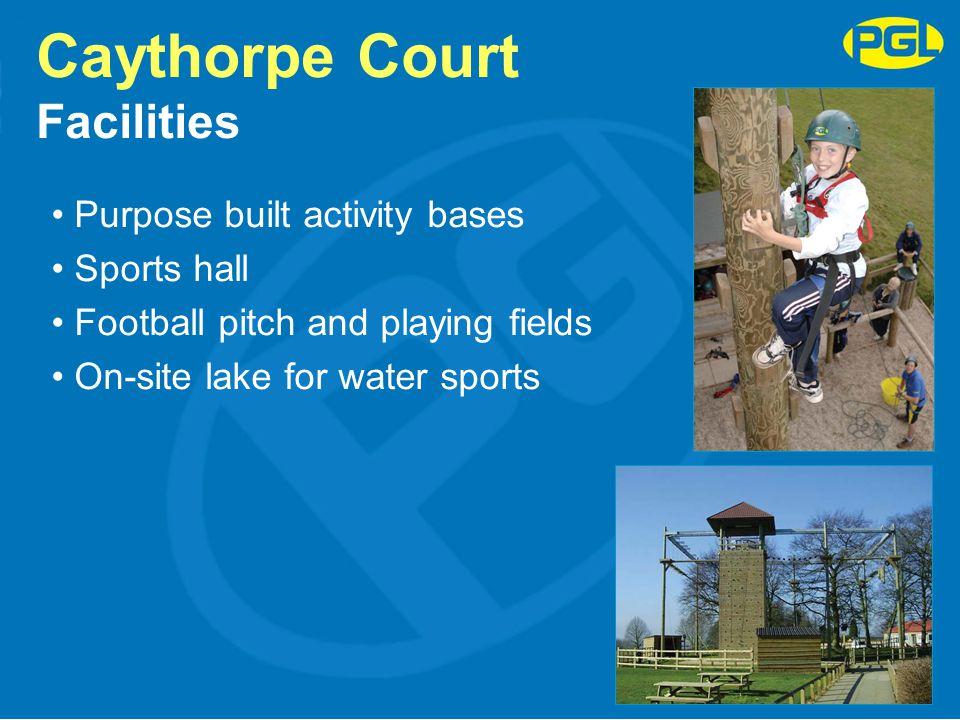 Caythorpe Court Facilities