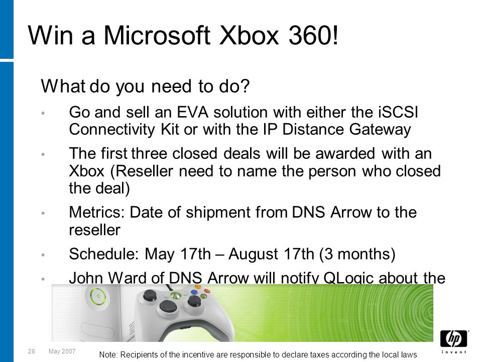 Win a Microsoft Xbox 360! What do you need to do