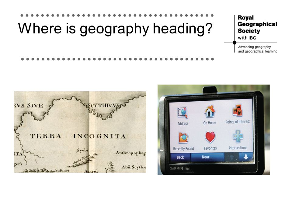 Where is geography heading