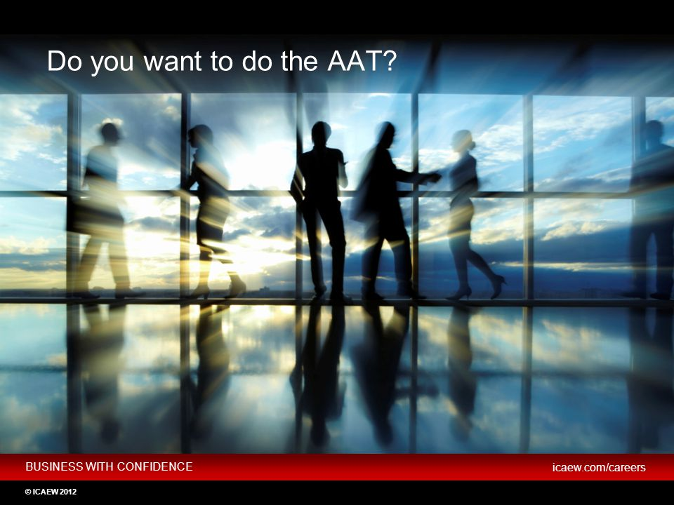 Do you want to do the AAT If you don't want to go to university, you can choose to do the AAT qualification which can lead to the ACA.