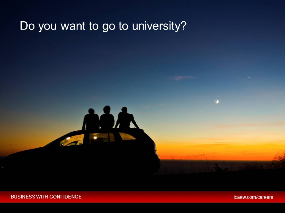 Do you want to go to university