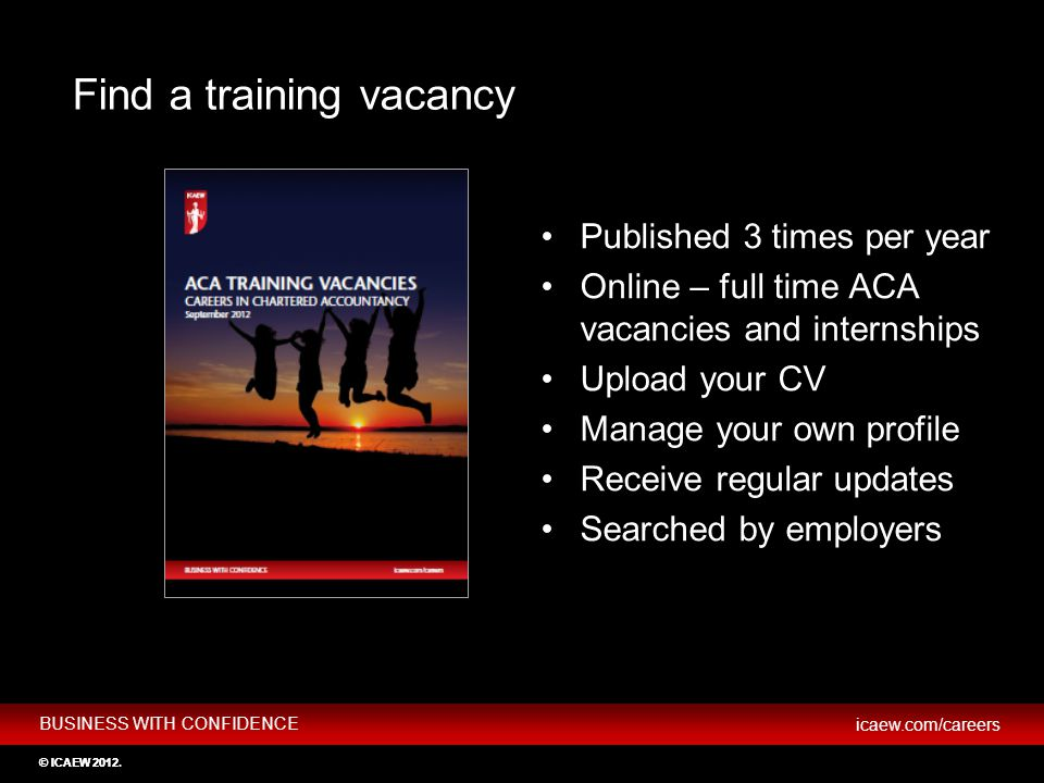 Find a training vacancy
