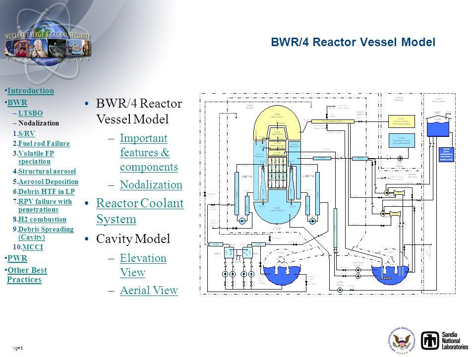BWR/4 Reactor Vessel Model